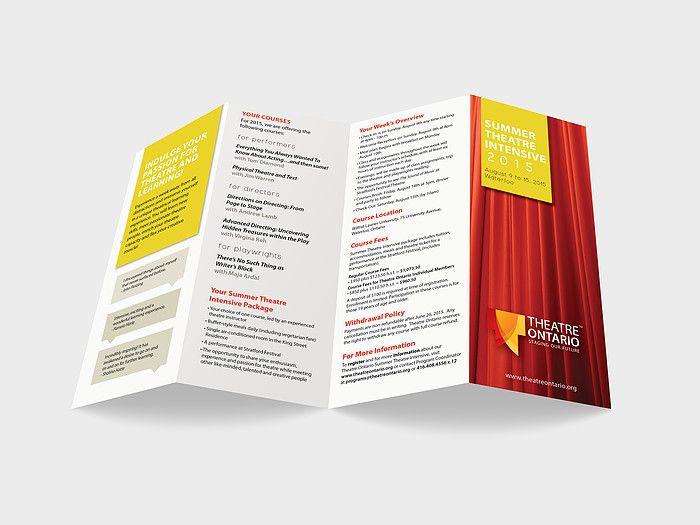 Brochure design by www.kimtruongdesign.com