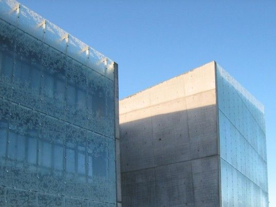 Stunning Icelandic Institute is an Ice-Frosted Eco Citadel