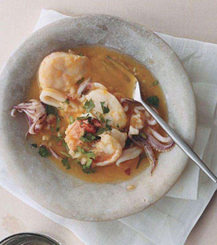 Scallop, Shrimp, and Squid Ceviche