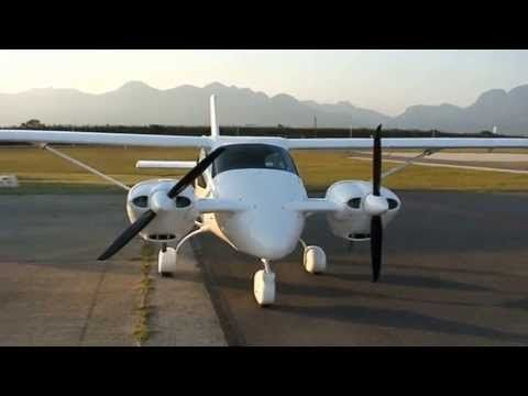 Jabiru Twin first taxi - YouTube