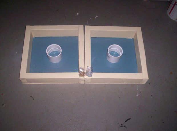 Picture of How to make washer toss game