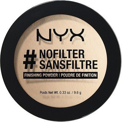 When it comes to getting our picture taken, we all love a good filter. That's why NYX Cosmetics created #NoFilter Finishing Powder - their amazing product that delivers a finish as flawless and soft as the most flattering filters on Instagram and beyond.