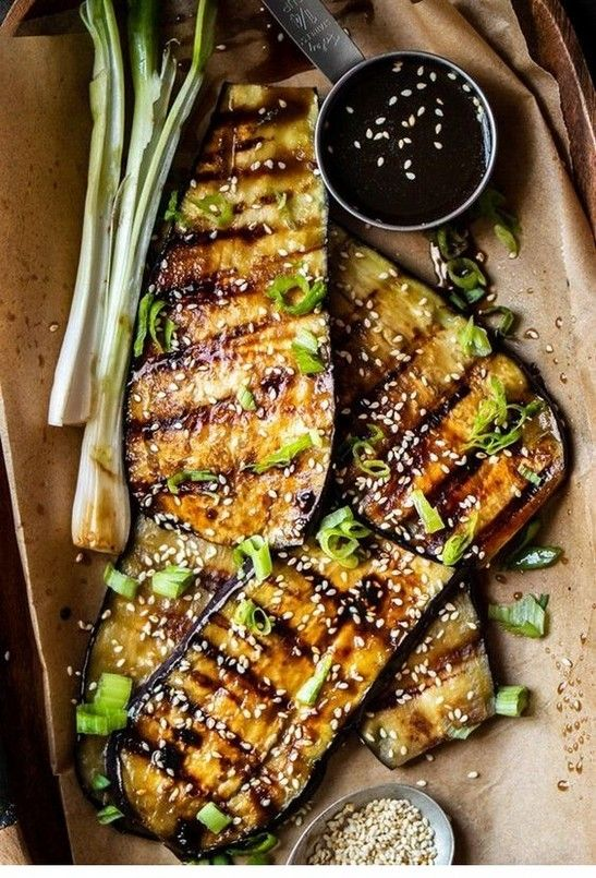 Vegan Teriyaki Grilled Eggplant | Vegan Recipes | #rumahtabloid