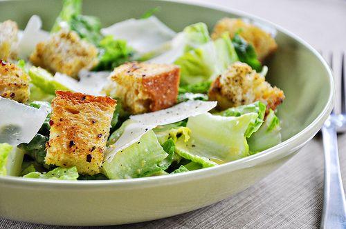 spotted: panera caesar salad <3