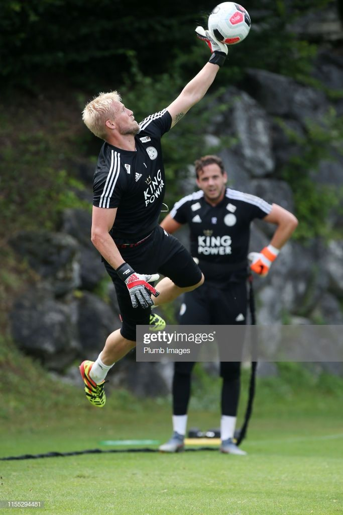 Kasper Schmeichel Of Leicester City During The Evian Pre Season Tour Kasper Schmeichel Leicester City Evian