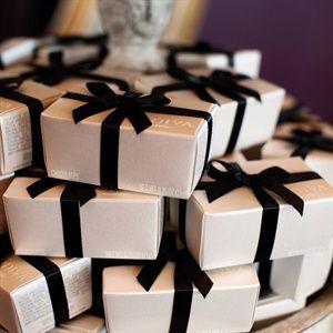 Chocolate truffle favors