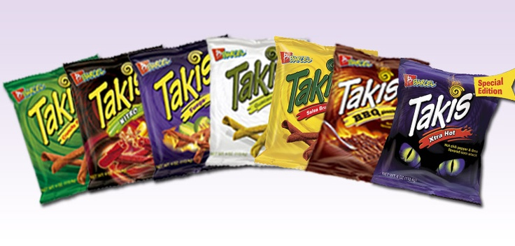 Takis Takis Takis--8 Flavors Of The Best Snack Ever