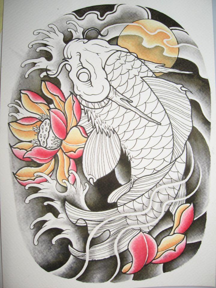 2012 koi dragon wip