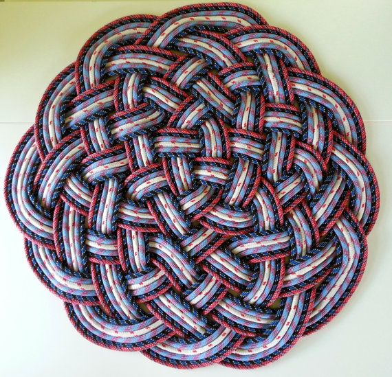 Today I Found Some Diy Rope Rug Creative Ideas This Rugs Are And Easy To Make In Your Own Home