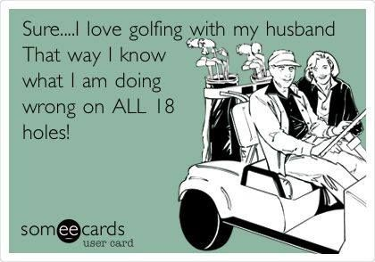This one's for all of our female Rock Heads out there! :) | Rock Bottom Golf #RockBottomGolf