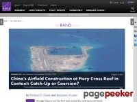 Alert 5 » China's Airfield Construction at Fiery Cross Reef in Context: Catch-Up or Coercion? - Military Aviation News