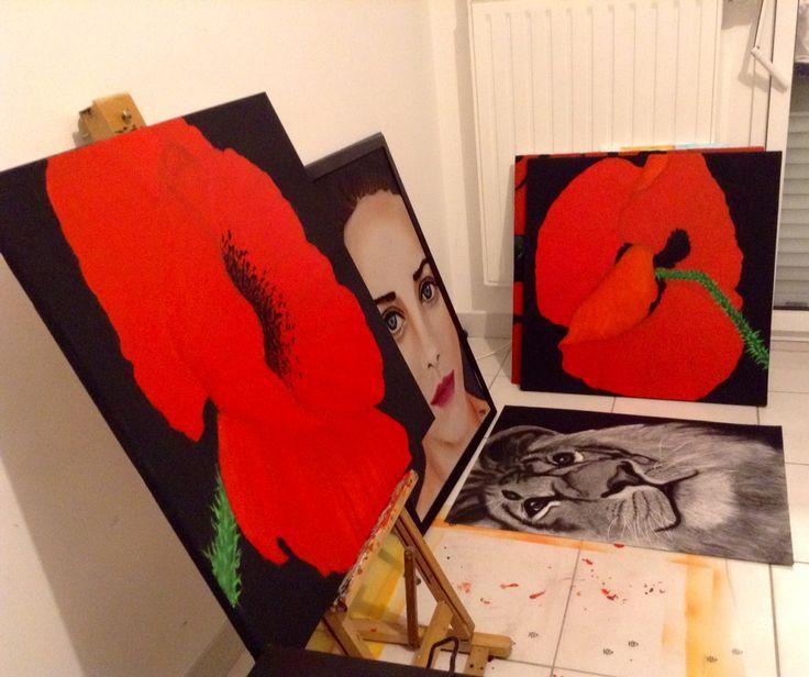 Studio Lucie Nguyen, #painting #artwork #studio