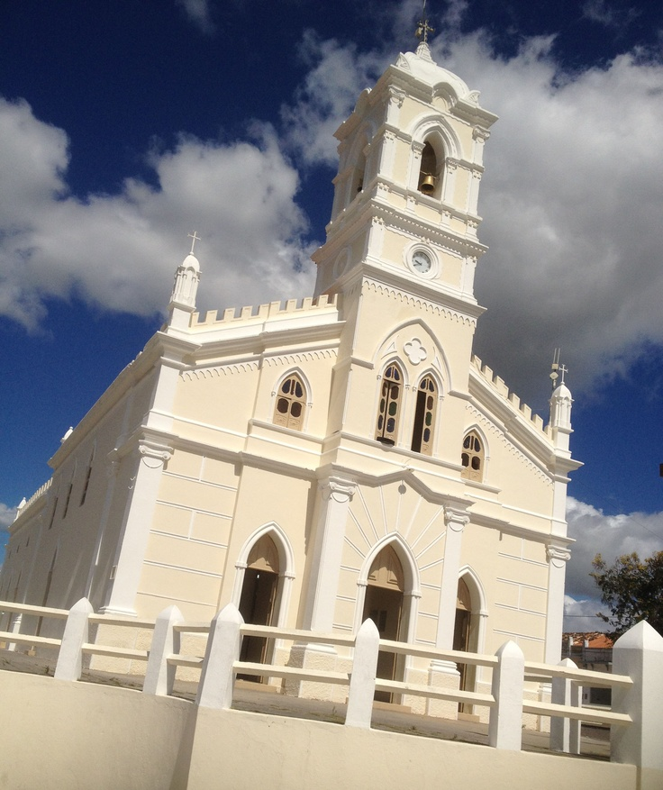 Church in small village in Bahia Brazil (Senor Bomfire). This is the place my father in law come from.