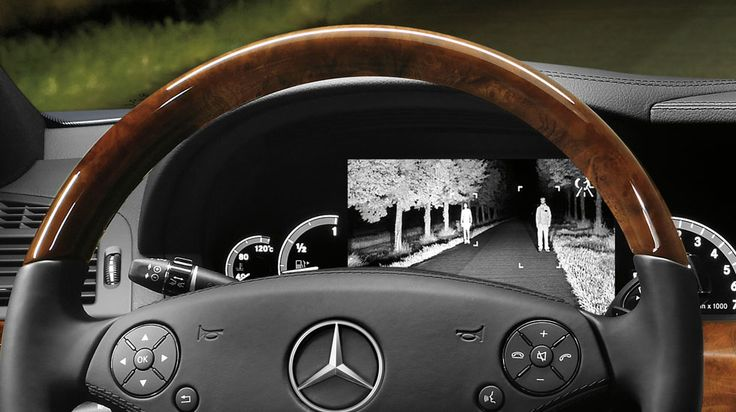 S550 S Class Night View Assist Plus With Pedestrian Detection Available At Http Www Billussery Com Cars Luxurycars Miami Mercedesbenz