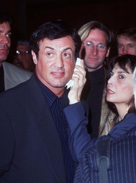 Sylvester Stallone and Talia Shire at event of Rocky