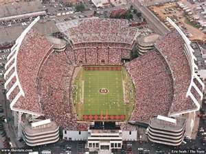 Pretty much my favorite sport facility of all time. I seriously love this place. University of South Carolina Football Stadium.