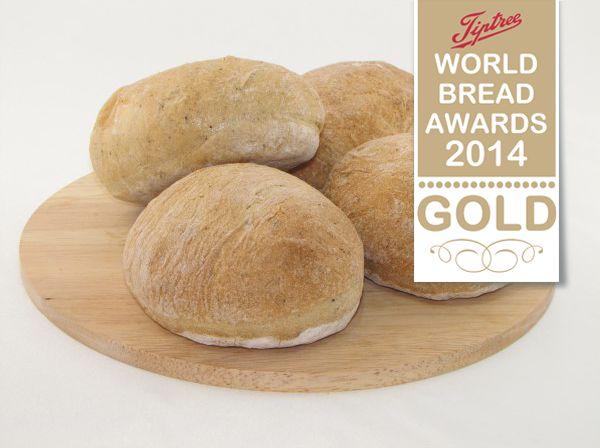 Ciabatta Rolls Gold Award at the Tiptree World Bread Awards - http://www.breaddujour.co.uk/order-bread/artisan-bakery/ciabatta-rolls