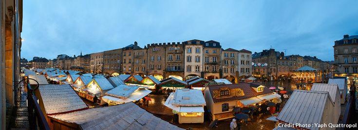 Körkép a karácsonyi piac Metz