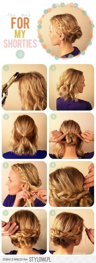 May happen if I don't have time to do my hair for something fancy...