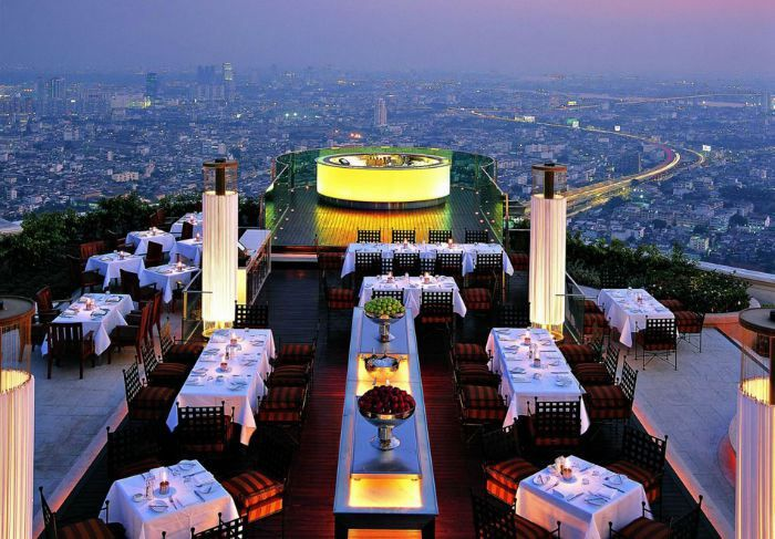 The World's 30 Most Amazing Restaurants With Spectacular Views