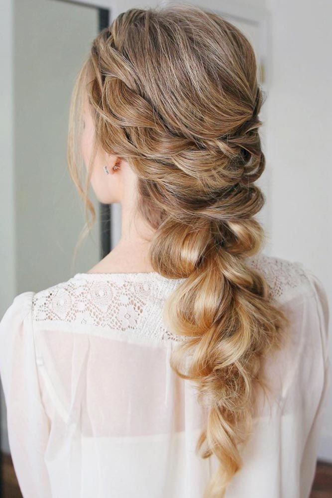 80 Dreamy Prom Hairstyles For A Night Out Lovehairstyles Com In 2020 Thick Hair Styles Rope Braided Hairstyle Braided Hairstyles