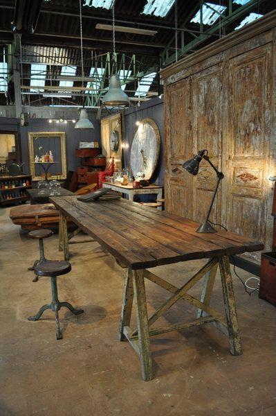 Arredamento Industriale Vintage Roma : Vintage industriale arredamento ...