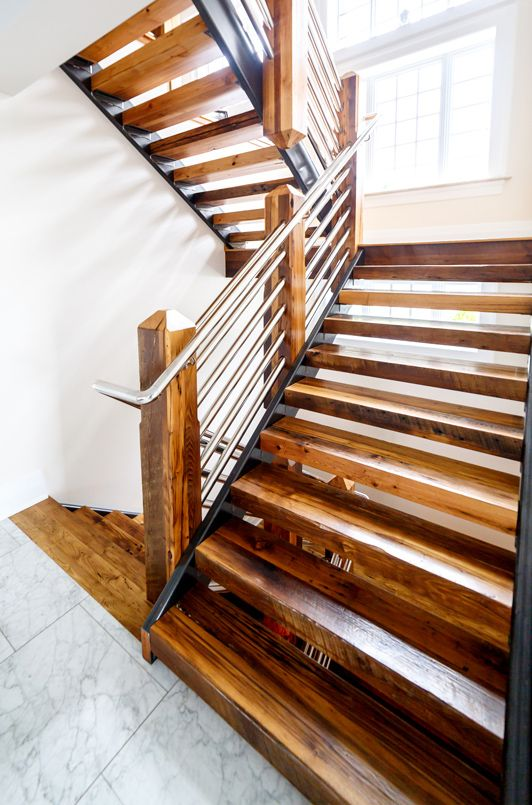 Best Pin By Grothouse On Custom Wood Stair Treads Wood Stair 640 x 480