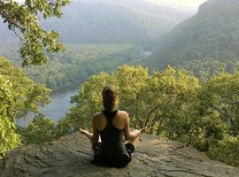 The Laurel Highlands Hiking trail is a 70-mile backpacking and hiking trail in Western PA. Part of the Potomac Heritage Trail, it is one of the most celebrated Pennsylvania hiking trails for its varied terrain and wondrous beauty.
