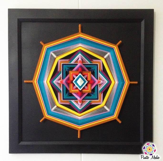 Mandala del equilibrio y la vitalidad.  www.facebook.com/Ptomedio