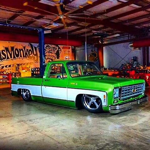 '76 C10 built by Gas Monkey Garage
