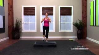 step aerobics - YouTube