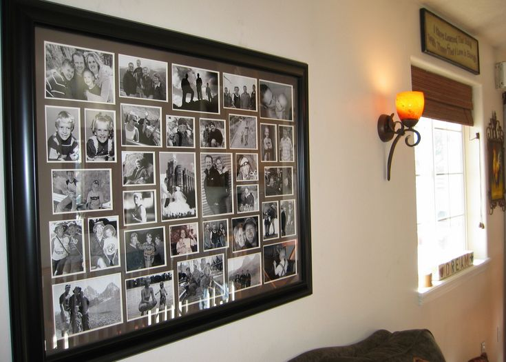 The 25+ Best Large Collage Picture Frames Ideas On