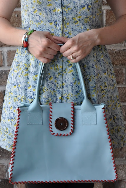 leather bag tutorial   make handmade,    Louie Vuitton it ain't