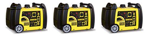 Champion Power Equipment 75537i 3100 Watt RV Ready AWcBCP Portable Inverter Generator with Wireless Remote Start (Pack of 3)