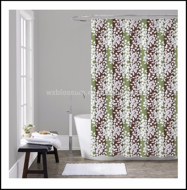 Single Swag Shower Curtains