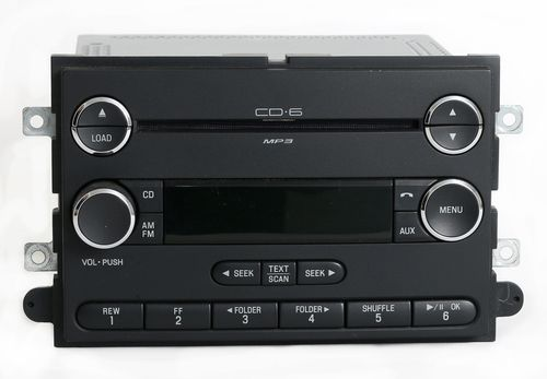 2008 Ford Expedition AM FM 6 Disc MP3 Player Sirius Ready - Part 8L1T-18C815-JB