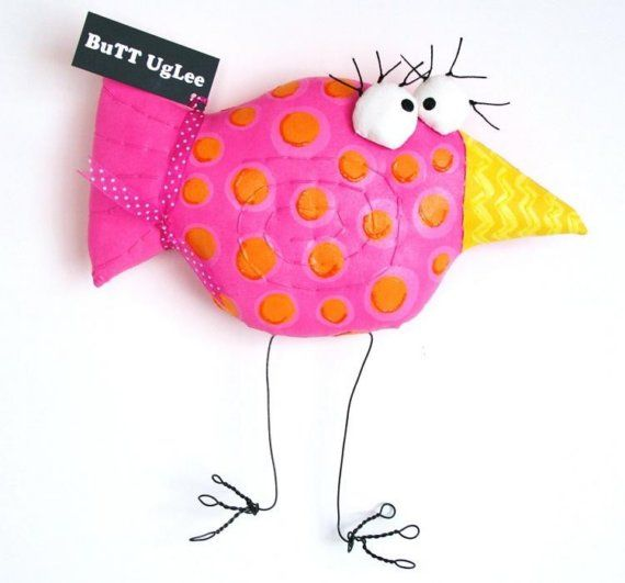 Bird  PinK named Justine
