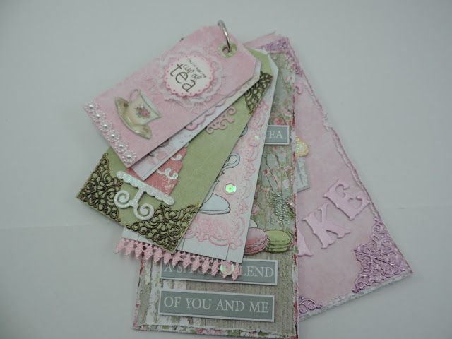 Let Them Eat Cake - Suzannes tea-time inspired tag kit