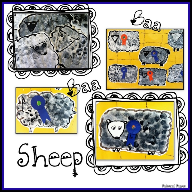Sheep at the County Fair Craft