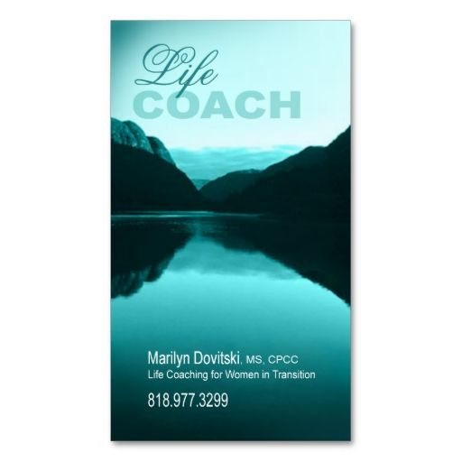 Promotional for Life Coach Spiritual Counseling Business Card Templates. This is a fully customizable business card and available on several paper types for your needs. You can upload your own image or use the image as is. Just click this template to get started!