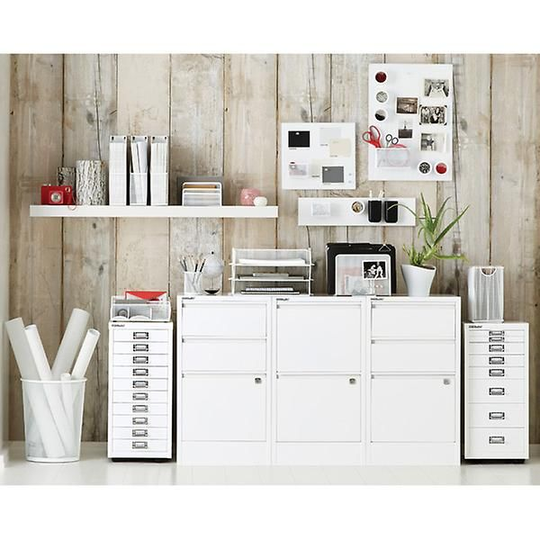 Magnetic Board Umbra Magnetic Bulletboard The Container Store Office Storage Cabinets Filing Cabinet Container Store