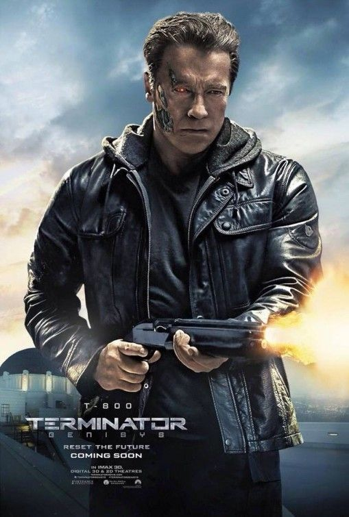 Terminator Genisys Character Posters 2