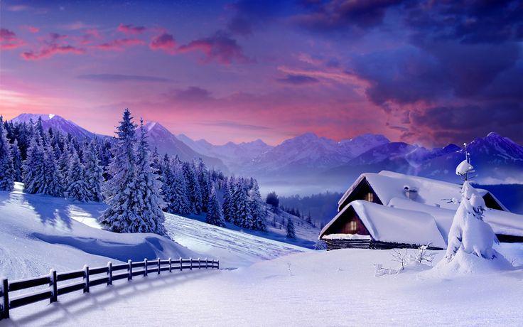 Archie Sinclair - winter backround for desktop hd - 1920 x 1200 px