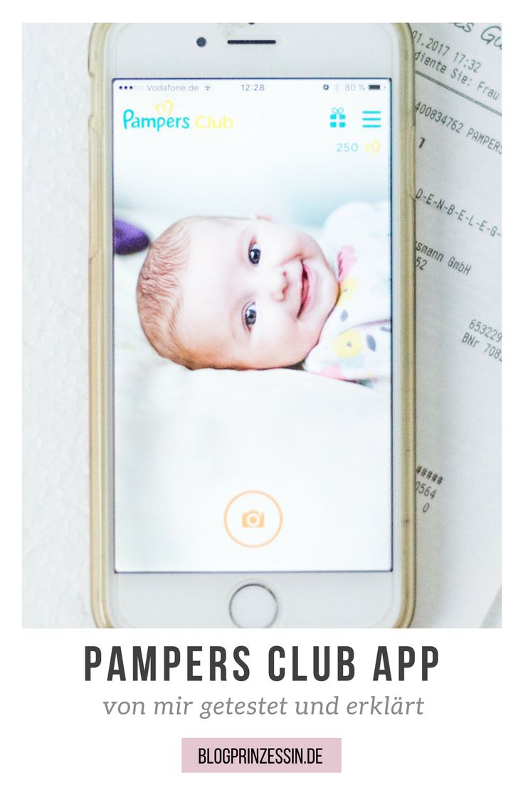 Die neue Pampers Club App im Test. Wie funktioniert die Prämien App und welche Prämien gibt es überhaupt für das einscannen des Kassenbons? Ich zeige es auch. https://blogprinzessin.de/2017/02/03/die-pampers-club-app-im-test/ #werbung