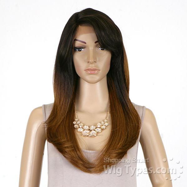 Brown Sugar Human Hair Blend Soft Swiss Lace Wig - BS201 - WigTypes ...