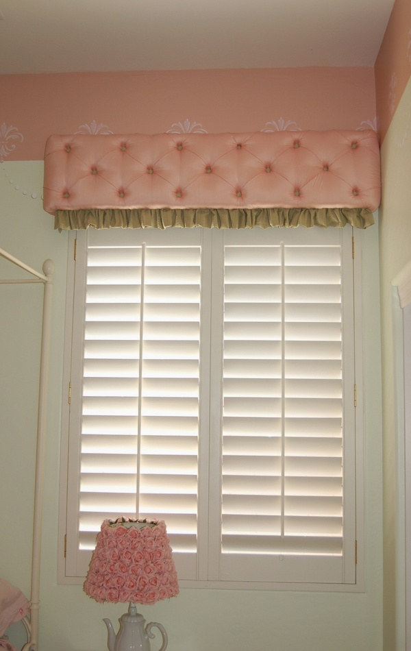 Tufted Window Valance Box Idea Master Bedroom Re Do