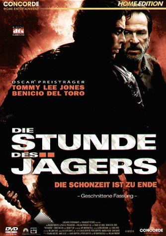 Die Stunde des Jaegers  2003 USA      IMDB Rating      5,9 (24.150)    Darsteller:      Tommy Lee Jones,      Benicio Del Toro,      Connie Nielsen
