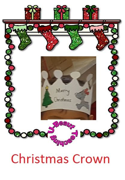 Grade - Year 1 – Year 3, Subject - - Christmas  - Christmas Crown By U-BEAUT-TEACHING15 Pages of step by step instructions to make a Christmas Crown.Subjects: Special Education, EFL - ESL - ELD, Christmas/ Chanukah/ KwanzaaGrades: Kindergarten, 1st, 2nd, 3rd, HomeschoolTypes: Activities