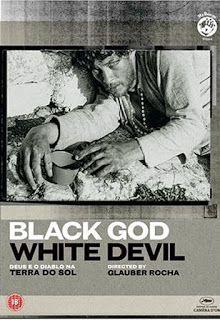 Carteles del cinema: 1964 - DIOS Y EL DIABLO EN LA TIERRA DEL SOL - Deus e o Diabo na Terra do Sol - Glauber Rocha