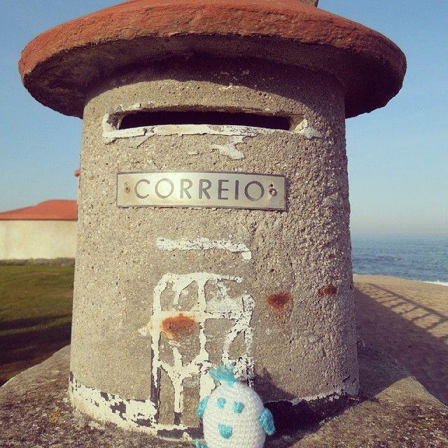 ¡Bonito buzón! #Correos #CaminodeSantiago #peluches #pelucheando